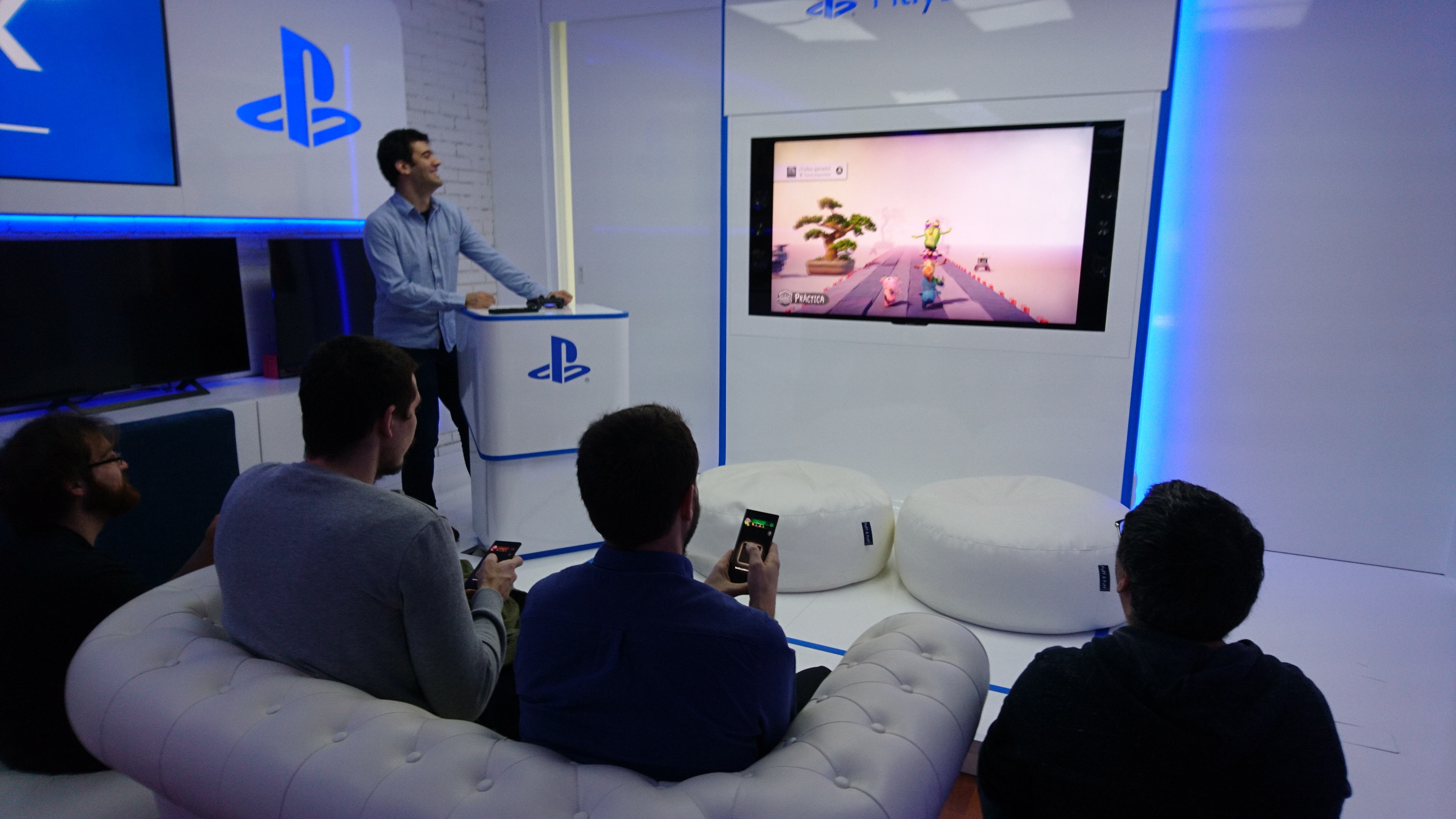 PlayStation showroom