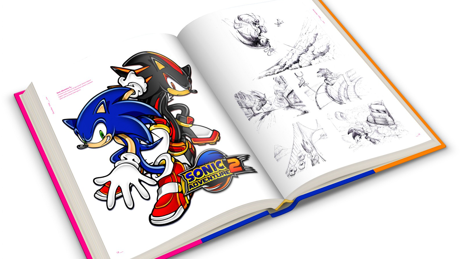 """Sonic the hedgehog: 25 anniversary art book"""
