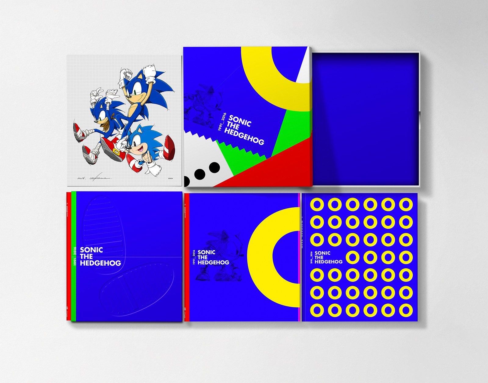 Sonic the hedgehog: 25 anniversary art book