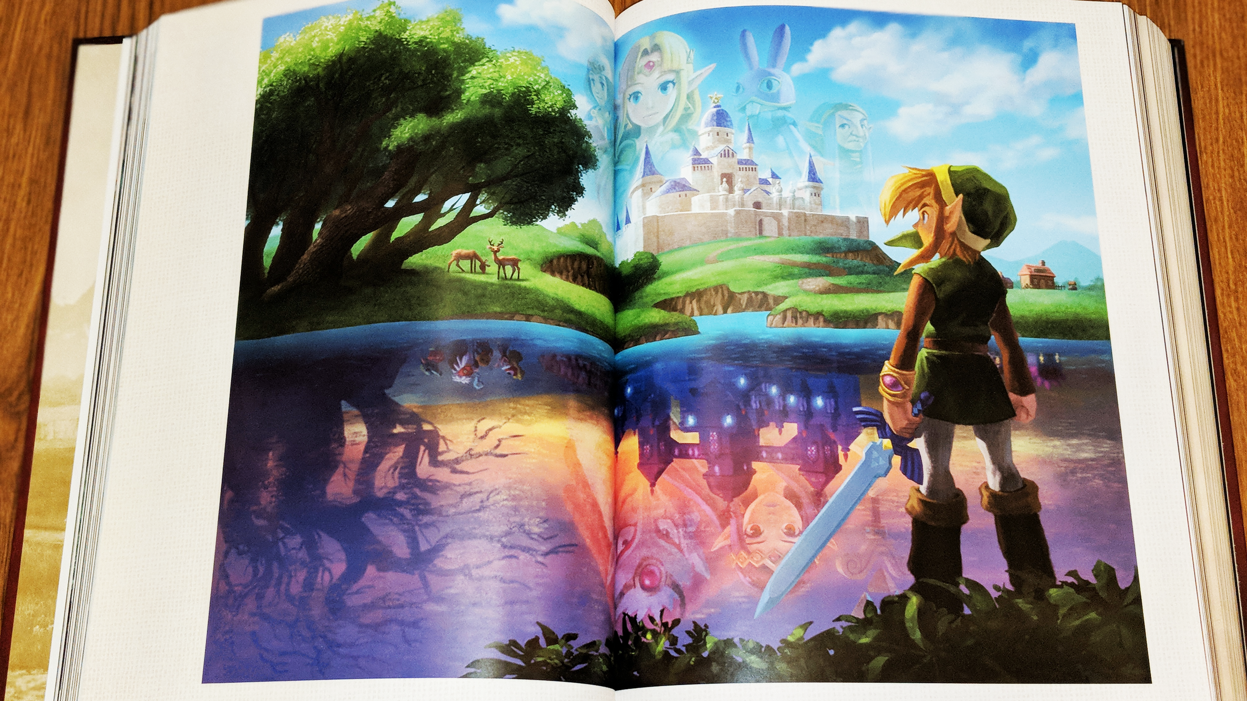 The legend of Zelda: Artes y artefactos
