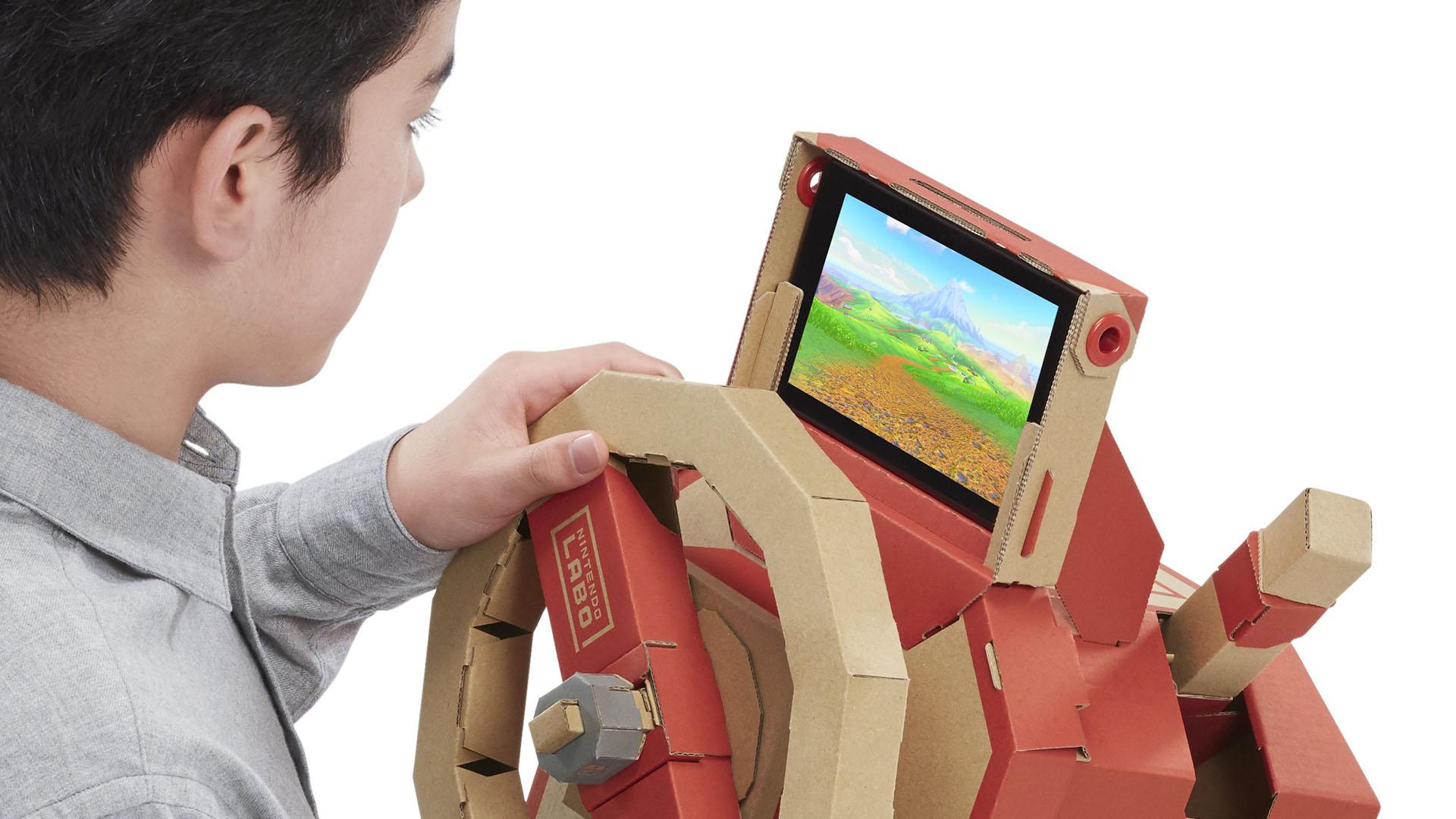 Nintendo Labo: Toy-Con 03: Kit de vehículos