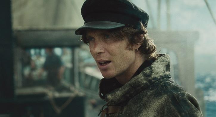 El actor irlandés, Cillian Murphy, también tiene un papel destacado en la aventura En el corazón del mar