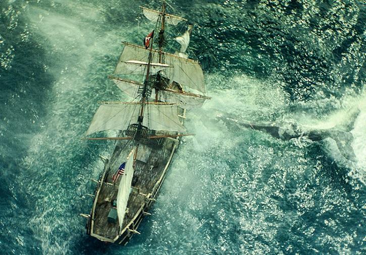 Impactante fotograma del filme En el corazón del mar, dirigido por el opscarizado Ron Howard