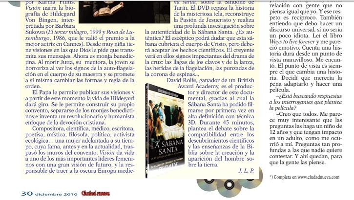 Segunda parte de la crítica del filme Vivir para siempre, de Gustavo Ron