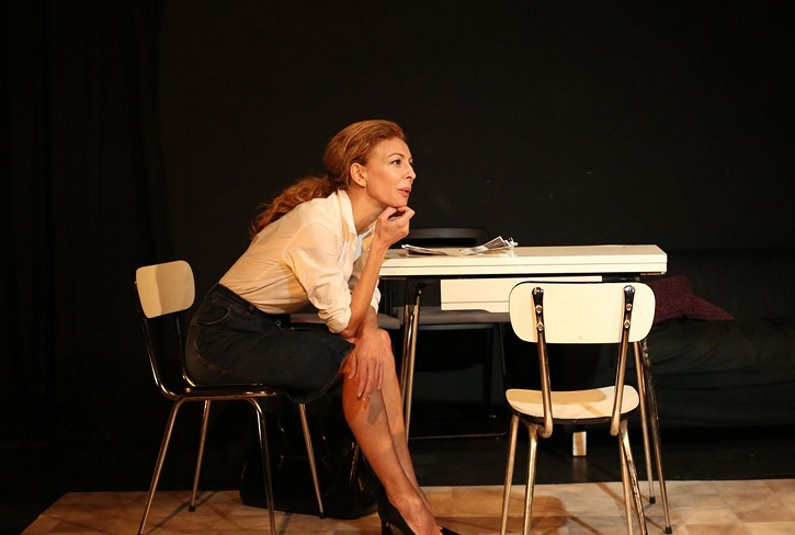 Elisa Matilla protagoniza el drama Martingala en la sala Intemperie Teatro