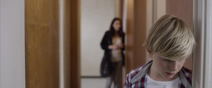 Fotograma del filme de Xavier Legrand, Custodia compartida, con el actor Thomas Gioria