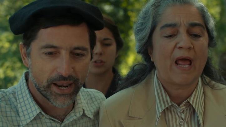 Otro fotograma del filme Garabandal, sólo Dios lo sabe, cuya banda sonora ya está a la venta