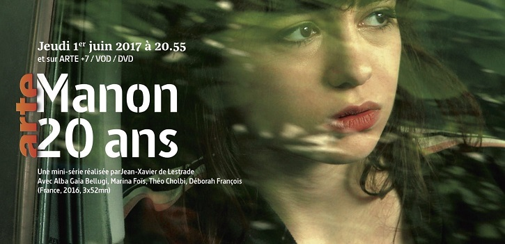 Cartel francés del filme | Filmin estrenará La vida de Manon, aclamada serie francesa