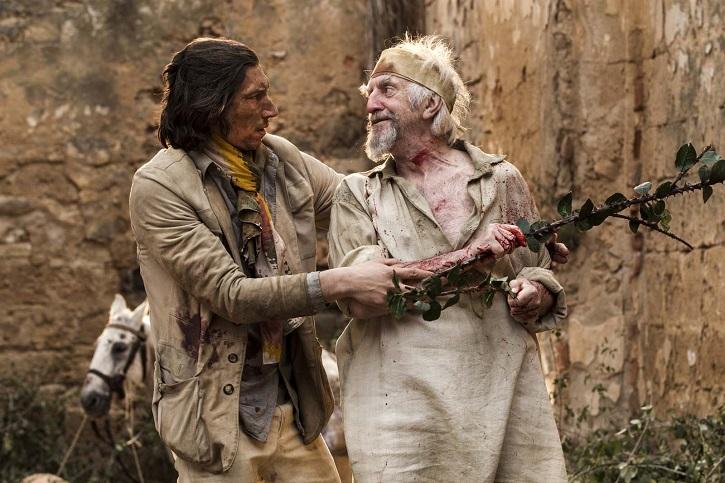 El actor estadounidense Adam Driver y el británico Jonathan Pryce, siempre solventes | Cannes dice sí a El hombre que mató a Don Quijote