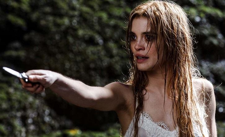 La joven actriz portuguesa der 26 años, Joana Ribeiro, en plena acción | Cannes dice sí a El hombre que mató a Don Quijote