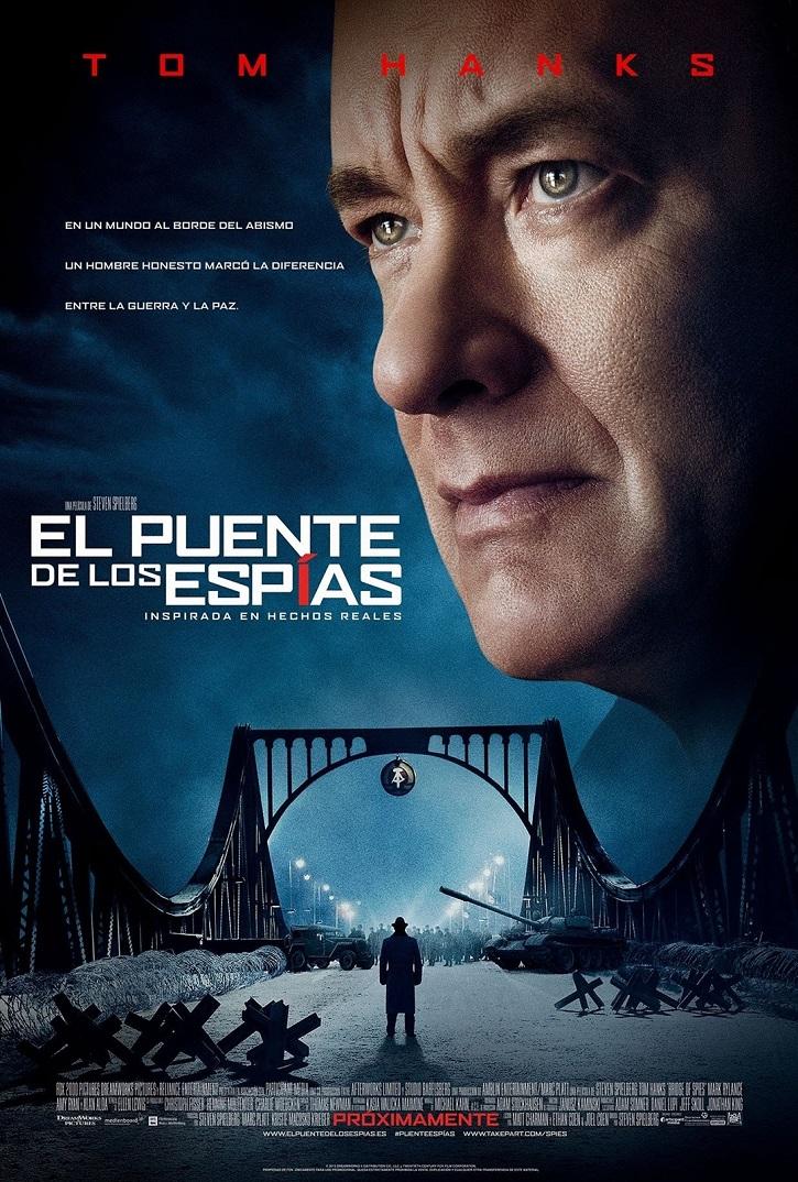 Cartel promocional de El puente de los espías, de Steven Spielberg | Tomás Valero publica 'El mundo actual a través del cine'