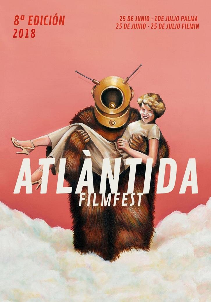 Cartel promocional del Atlàntida Film Fest 2018 | Michael Winterbottom en la programación online de Atlàntida Film Fest