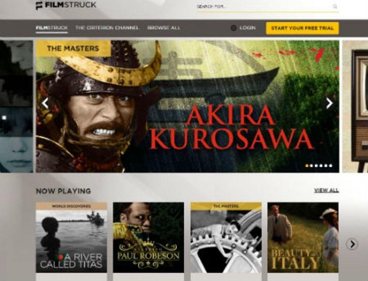 La nueva plataforma on line FilmStruck | 'FilmStruck' llega a España y amplía catálogo de las VOD