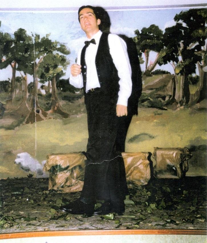 El actor José Luis Panero encarna a Lorca en El maleficio de la mariposa en 1997 | Federico García Lorca cumple 120 años