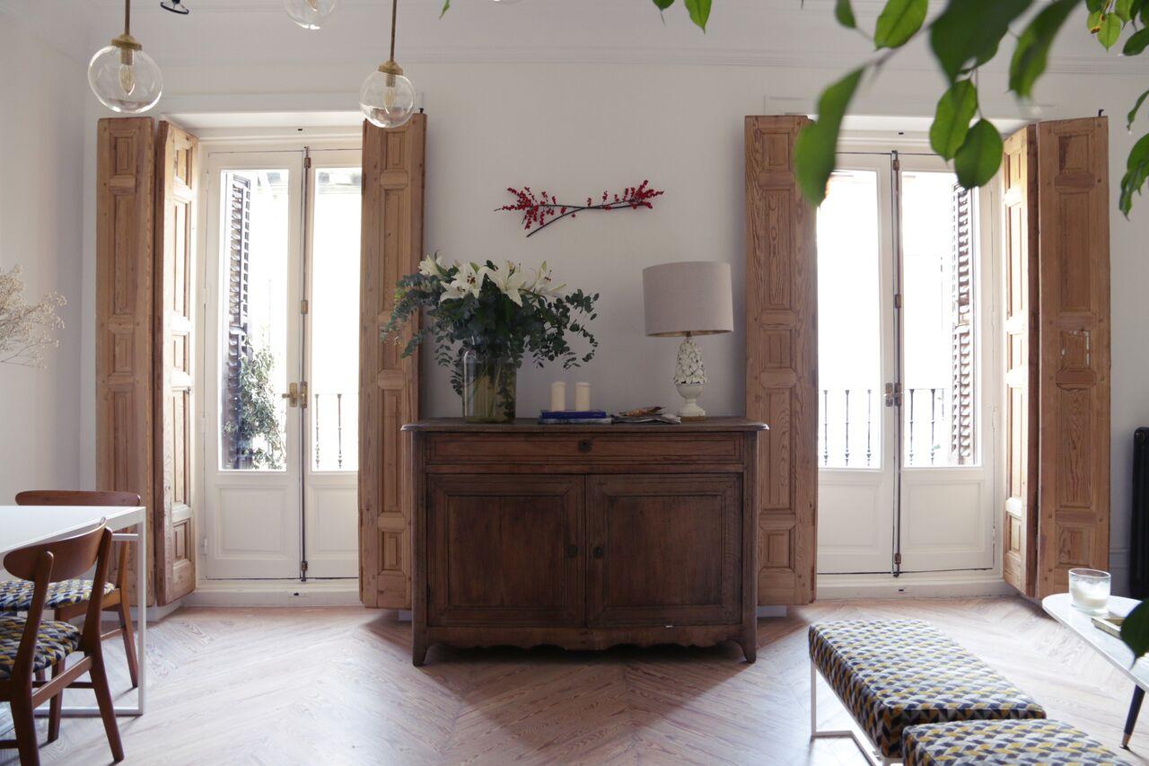 Trucos para decorar con muebles vintage