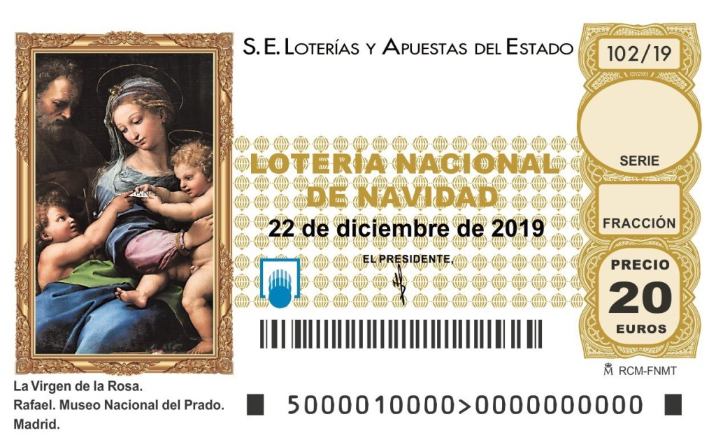 ¿Dónde comprar el décimo 39541 de la lotería de Navidad?