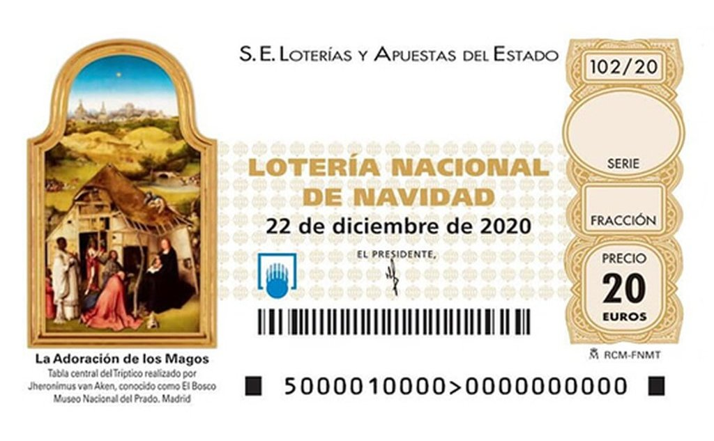 ¿Dónde comprar el décimo 02587 de la lotería de Navidad?