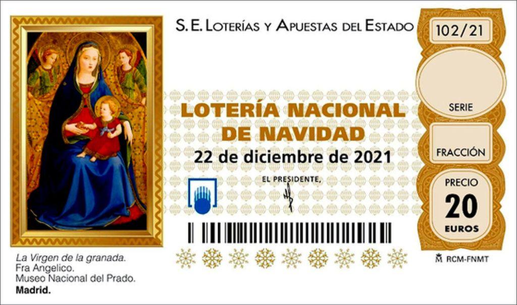 ¿Dónde comprar el décimo 58478 de la lotería de Navidad?