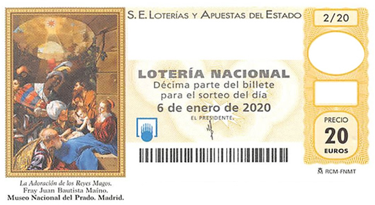 ¿Dónde se vende el décimo 52110 de la lotería del Niño?