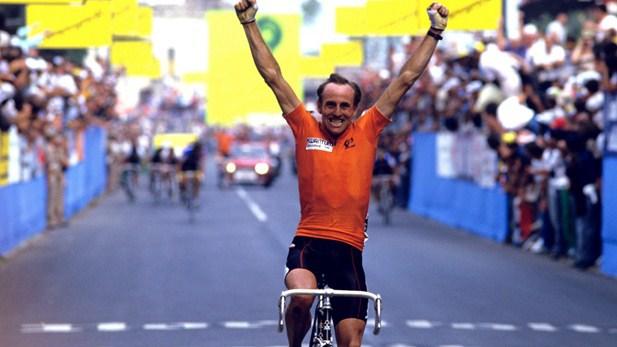Zoetemelk, sorprendente ganador del Mundial de 1985