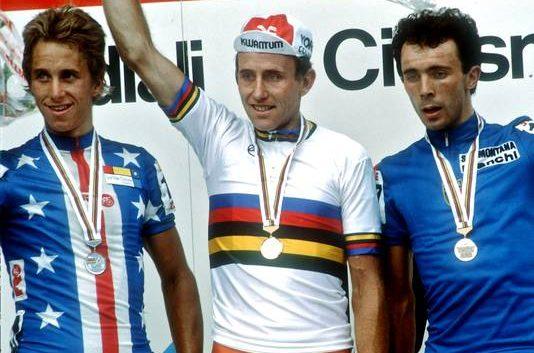 Zoetemelk ganó el Mundial con la misma edad que Valverde