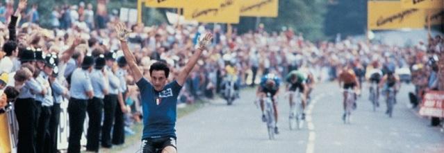 Saronni, campeón del mundo de ciclismo en 1982