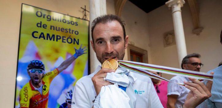 Valverde, líder de la clasificación UCI
