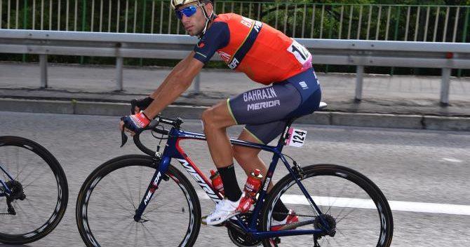 Vincenzo Nibali explica a la Policía su caída en el Tour