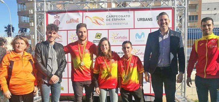 Daniel Peñafiel, campeón de España de BMX Freestyle Park 2019
