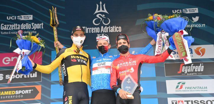 Pogacar sigue imparable y gana su primera Tirreno-Adriático