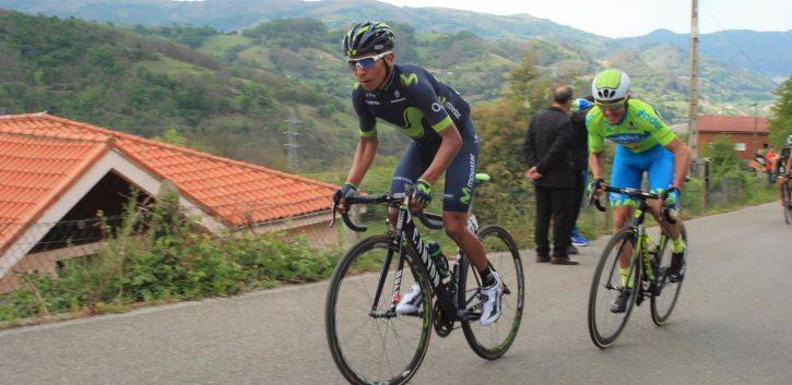 Nairo Quintana, ganador de la Vuelta a Asturias 2017 tras la sanción a Raúl Alarcón