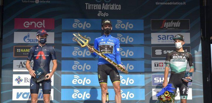 Yates, Pogacar, Bernal y Thomas, póker de ases en la Tirreno-Adriático