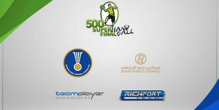 El 500 Super Final Handball estará bajo el patrocinio del Crown Prince of Dubai