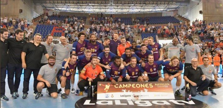 El F.C.Barcelona gana la Supercopa de España y augura ser una máquina letal esta temporada