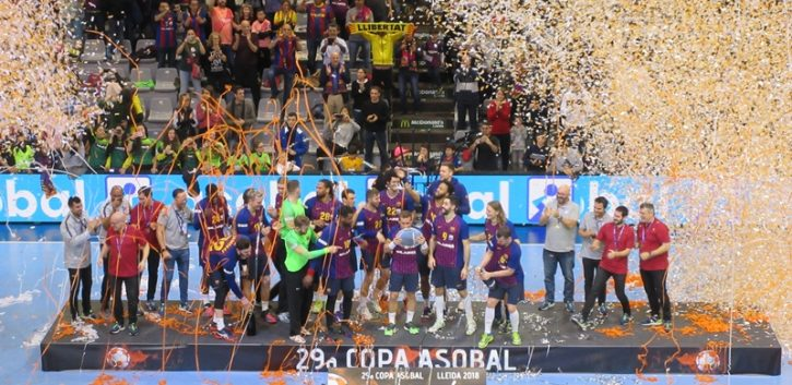 El F.C.Barcelona arrasa en la Final Copa ASOBAL ante un meritorio Bidasoa