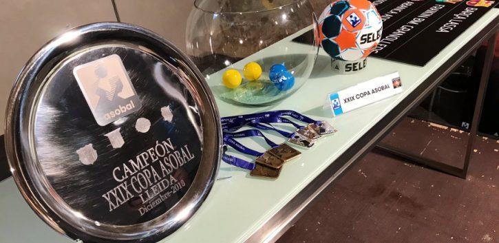 La Copa ASOBAL 2018 se celebra este fin de semana en Lleida