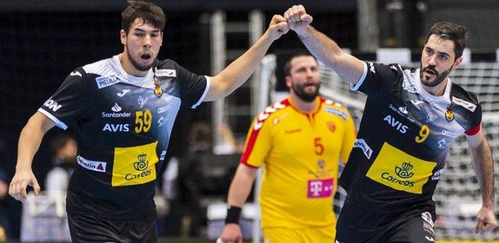 España gana a Macedonia y hoy ante Croacia se juega pasar con 4 puntos a la Main Round