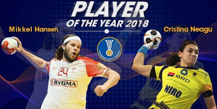 Cristina Neagu y Mikkel Hansen elegidos Mejores del Mundo año 2018