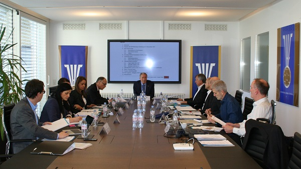 Entrevista Presidente IHF con Presidente Federación Suecia para colaboraciones