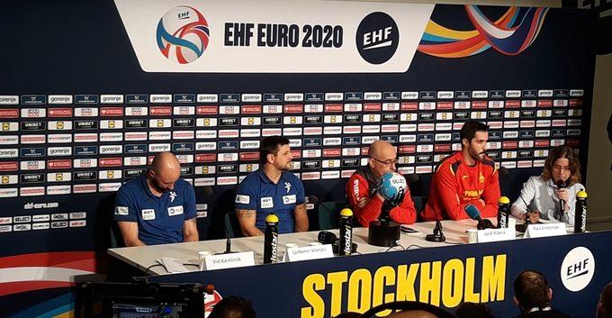 España - Eslovenia por un puesto en la Final del Europeo 2020
