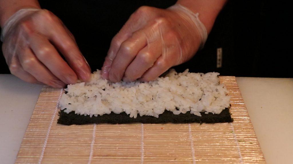 Preparando el arroz