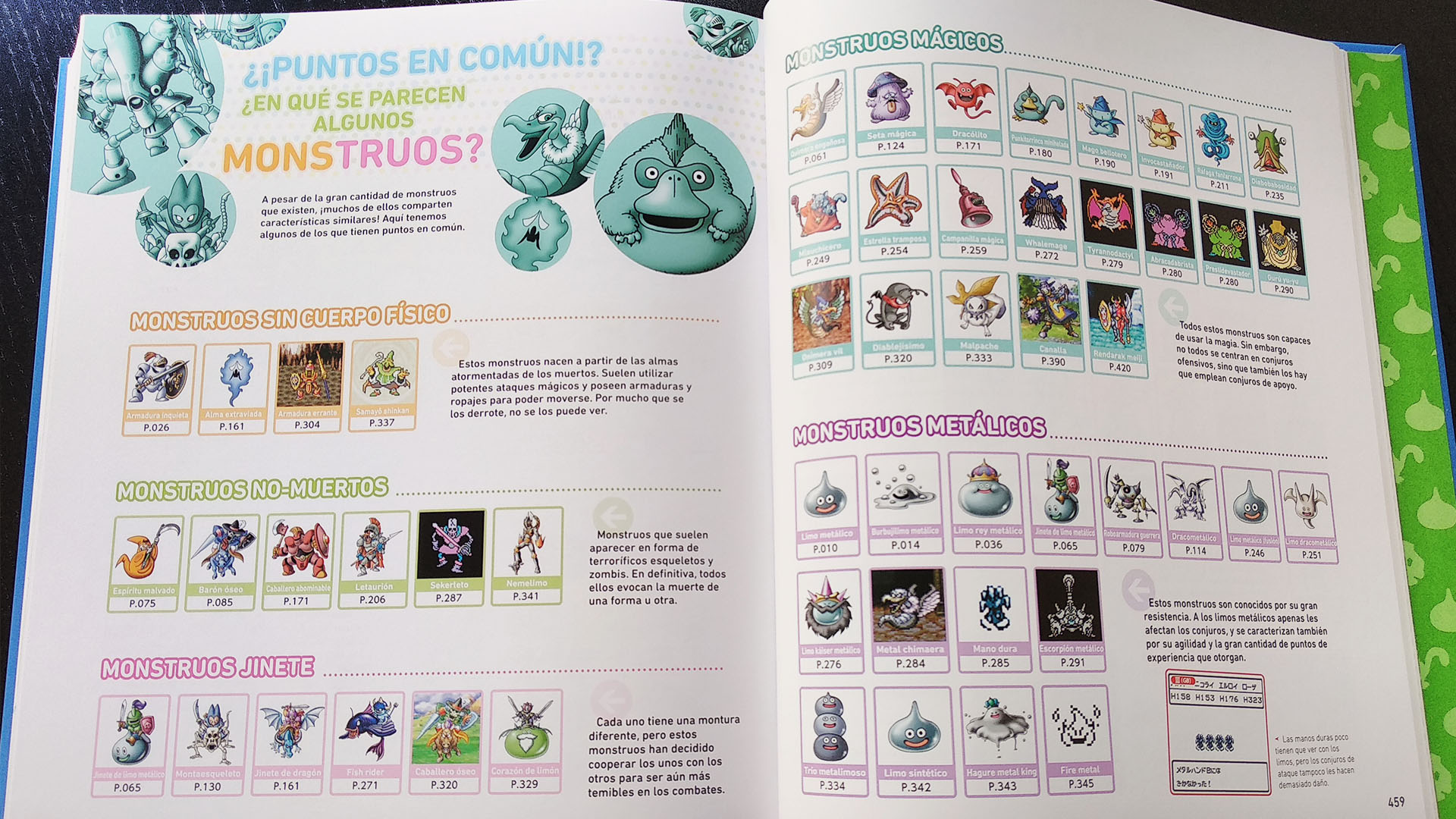 Dragon quest: Enciclopedia de monstruos