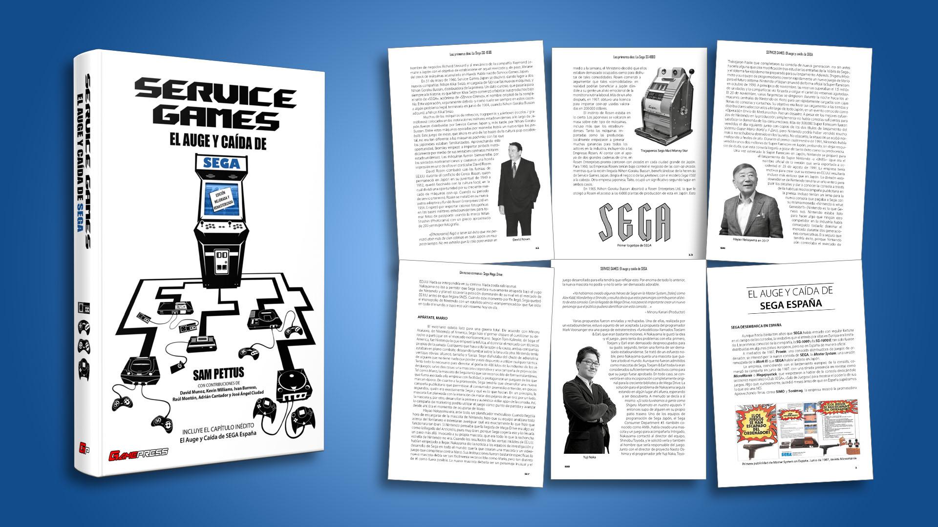 Service games: El auge y la caída de SEGA