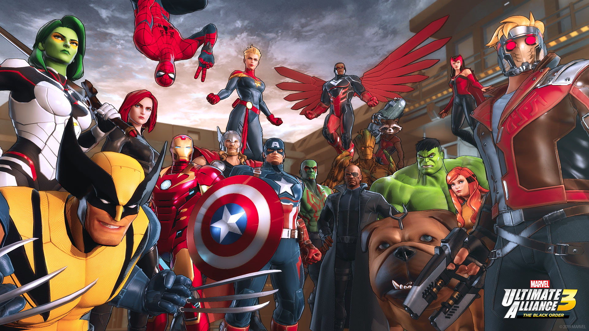 Marvel: Ultimate alliance 3: The black order