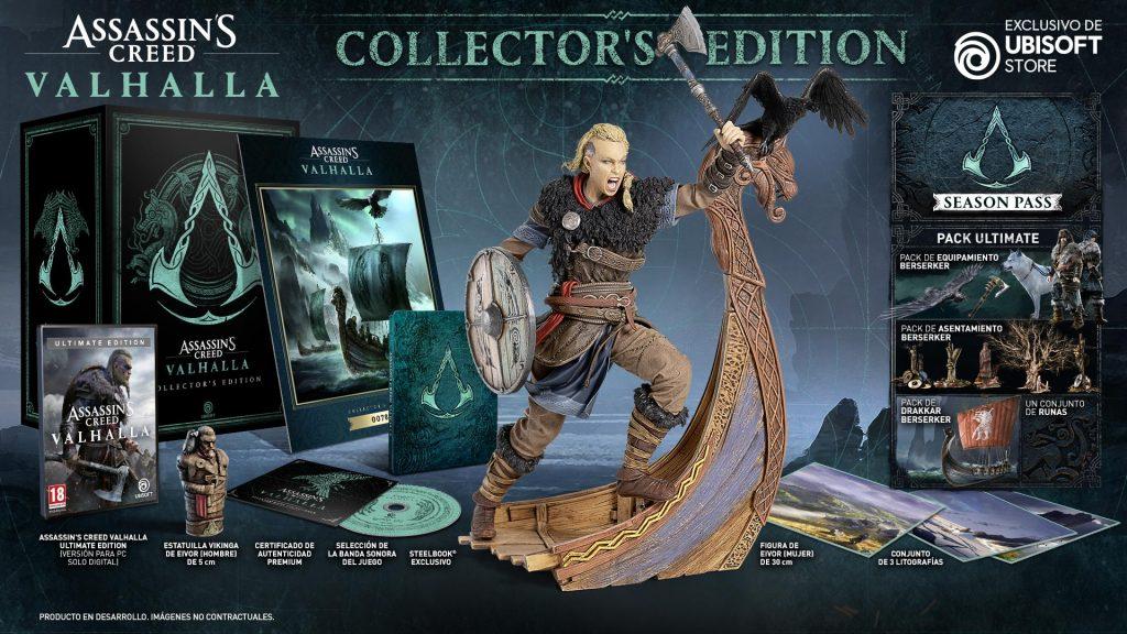 Edición_Coleccionista_Assassin's Creed Valhalla