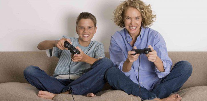 mama gamer