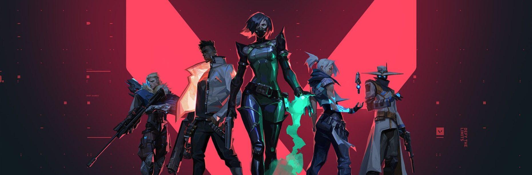 Algunos personajes disponibles dentro de Valorant.