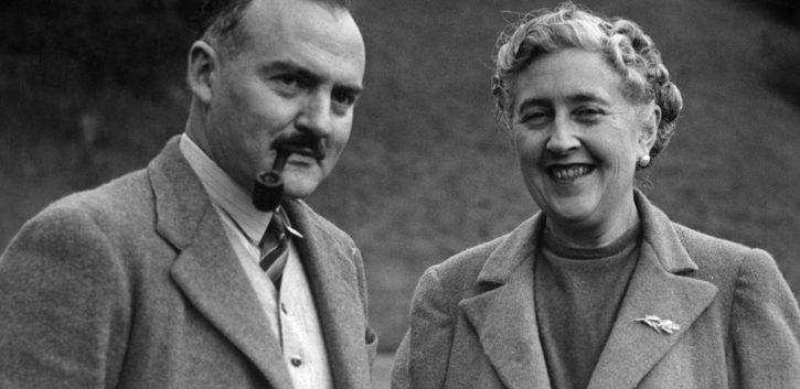 Agatha Christie y Max Mallowan