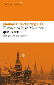 Portada Maestro Juan Martinez