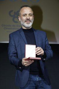 Javier Gutiérrez, mejor actor protagonista por su trabajo en El autor